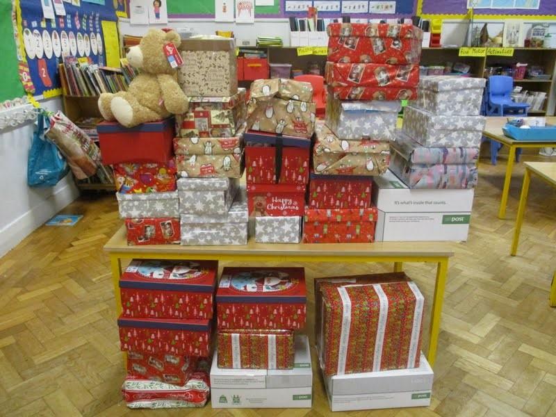 Christmas Shoe Box Appeal 2019.Christmas Shoe Box Appeal St Gabriel S Primary School